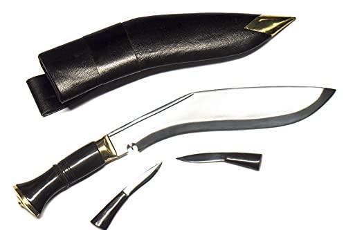 ESK 9' Blade Nepal army khukri/kukri knife , Water Buffalo Horn Handle...