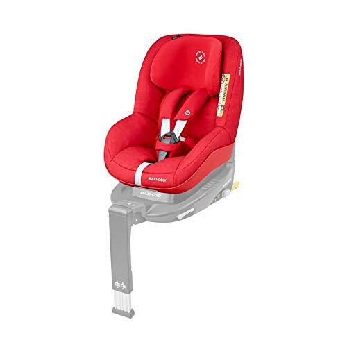 Maxi-Cosi Pearl Kindersitz mit 5 Sitz- und Ruhepositionen, Gruppe 1 Autositz (9-18 kg) nutzbar ab 6 Monate bis ca. 4 Jahre, nomad red