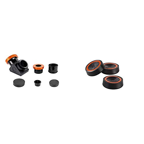 Celestron 93573 Dielectric Star Diagonal 2' with Twist Lock & Vibration Suppression Pads