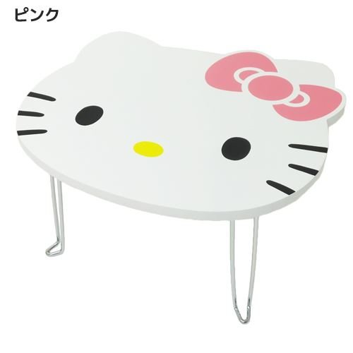 Hello Kitty Die Cut Mini table Rose à partir du Japon