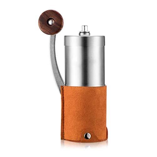 coffee grinder Manual portátil molinillo de café con la herramienta de Molino de acero inoxidable de cerámica ajustable Burr grano de café Pimienta delicada del hogar, viajes for la elaboración de la