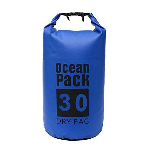 Ducomi Borsa Mare Impermeabile - Sacca Stagna Barca, Pesca, Kayak, Canoa, Piscina e Spiaggia - Nautica Dry Bags per Cellulare e Accessori - Perfetta per Sub, Surf, Viaggio e Trekking (Sky Blue, 20L)