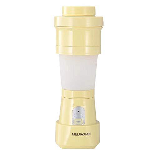 Jinclonder Opvouwbare sapcentrifuge, draagbare sapcentrifuge, mixer voor vruchtsmoothies, groenten, ijsblokjes, milkshakes, babyvoeding