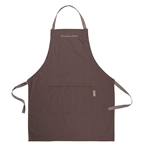 KitchenAid Solid Embroidered Apron Gastronomie - Schürze, Baumwolle, anthrazit