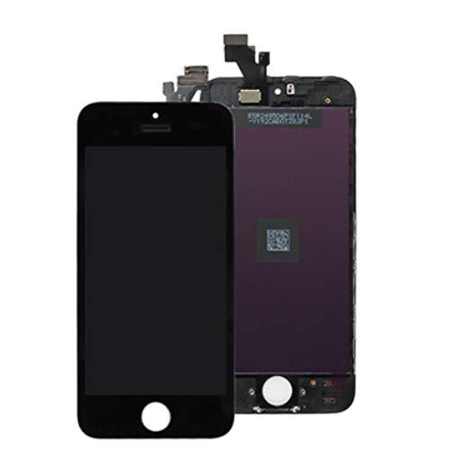 Standard Display Einheit schwarz, komplett passend für iPhone 5