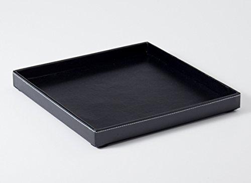 アメニティトレイ レザー W250×D250×H25mm トレー エアファクトリー