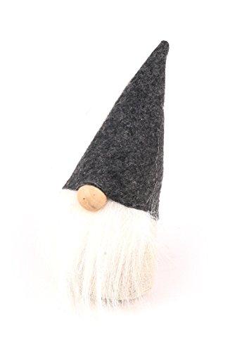 Bellaflor kaboutervilt/linnen 4 stuks grijs 15 cm