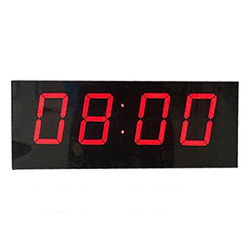 ChengBeautiful Tabellone Segnapunti A Cifre Pallacanestro Game Scoreboard LED LED Supporto del tabellone segnapunti del Tasto segnapunti Timer Timer Badminton Balldi (Colore : Black, Size : 42x14cm)