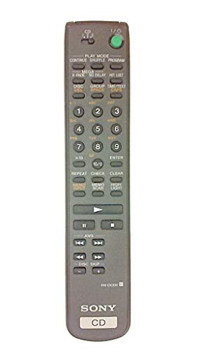 Replacement Sony Rm-dx300 Cd 300 Disc Changer Remote Cdp-cx300...
