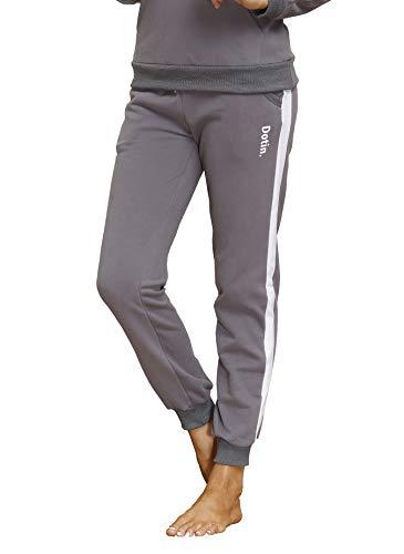 DOTIN Damen Jogginghose Sweathose - Trainingshose Fitness High Waist Sporthose - Frauen Sweatpants Lange Freizeithose Laufhose