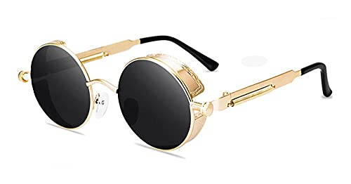 Crich sunglasses 2021 Sunglasses Men Women Fashion Round Glasses Brand Design Vintage Sun Glasses -A6