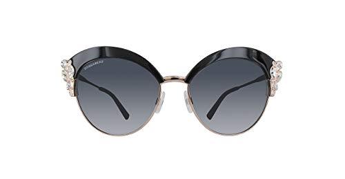 DSQUARED2 Dq0199-01A-Schwarz Gafas de sol, Negro (Schwarz), 58.0 para Mujer