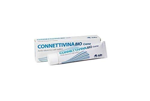 Fidia - Connettivina Bio Crema per irritazioni cutanee e lesioni, ustioni ferite acute e incisioni post-operatorie, formato da 25 g