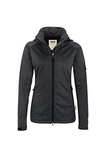 HAKRO Damen Softshell-Jacke Alberta - 248 - anthrazit - Größe: M