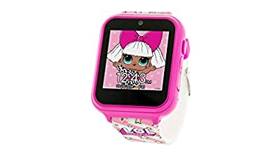 L.O.L. Surprise! Touch-Screen Smartwatch, Built in Selfie-Camera, Easy-to-Buckle Strap, Pink Smart Watch - Model: LOL4104 from Accutime Watch Corp.