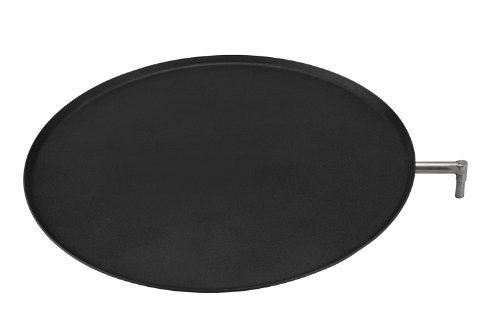 Asado Bratschale ca. 43 cm für den Grillkamin, Antihaft Beschichtung, Höhenverstellbar, vielseitig anwendbar