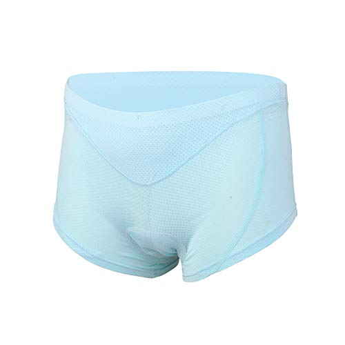 XINTOWN Cycling Short, Bicycle Underwear with 3D Padded for Men (Small, Green)