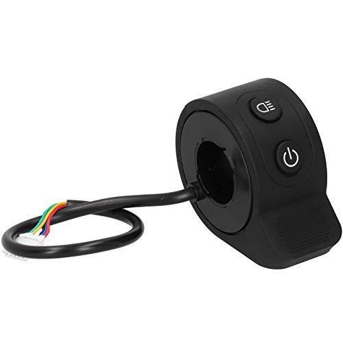 Hoseten Acelerador de Scooter eléctrico, fácil de Instalar, Control de la Velocidad, botón del Acelerador, Freno con 5 Salidas para Scooter eléctrico
