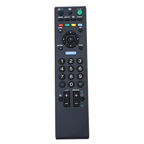 Cuifati Mando a Distancia de Smart TV de Repuesto Control Remoto de televisión de transmisión Adicional para Sony RM-ED017 Mando a...