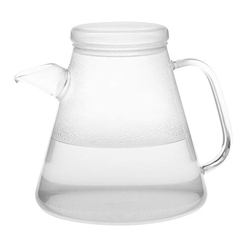 Trendglas Jena innovativer Wasserkocher VESUV aus Borosilikatglas, 1,1 L