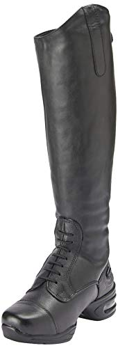 Rhinegold Elite Siena Bottes d'équitation, Mixte, Noir, Size 6.5 (EU40) - Calf 2