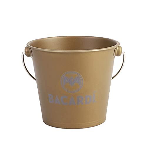 FOLA Barba de cucharón de Hielo de Acero Inoxidable Cubo de Cerveza de Vino de champán Especial con Mango Cubos de Hielo 1.5L Bucket Cooler