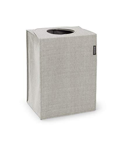 Brabantia Wäschekorbtasche, 55L, rechteckig, Grey, Kunststoff
