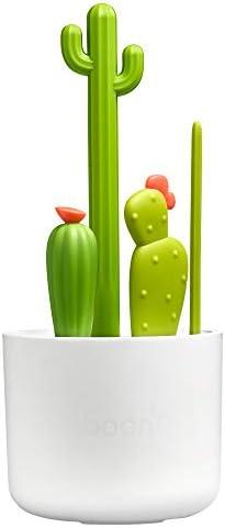 Boon Cacti Bottle Cleaning Brush Set 4pcs Green product image