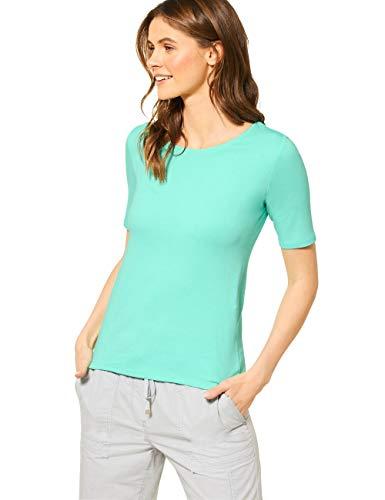 Cecil Damen 311780 Lena T-Shirt, Light Molecule Mint Green, X-Large