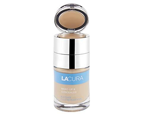 mächtig der welt Lacula Caviar Illumination Make-up und Concealer Farbe: 103 Bronze Inhalt: 40 ml Make-up + 2,8 g…