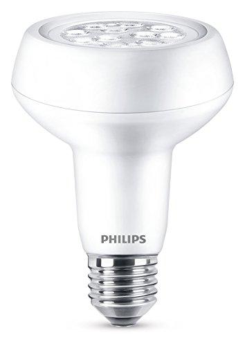Philips Ampoule LED pour Remplacement de 60W, E27, Blanc Chaud (2700K), 370 Lumens, Réflecteur