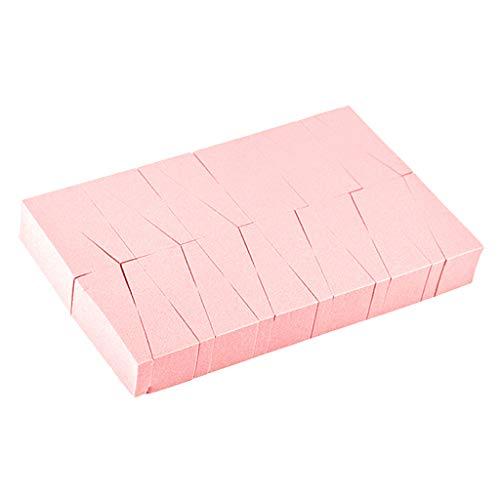 Toygogo 24pcs Eponges de Nail Art Estampage Transfert de Modèle Outil à Ongles Bricolage Manucure Professionel - Rose