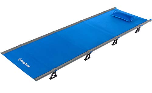Top 10 best selling list for kingcamp ultralight compact folding camping tent cot bed