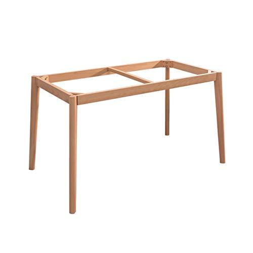 Möbelbeine Tischbeine Rahmen, Couchtischbeine Holz Schreibtischbeine, Esstischbeine, Konsolentischbeine Bankbeine für Balkon, Küche, Büro