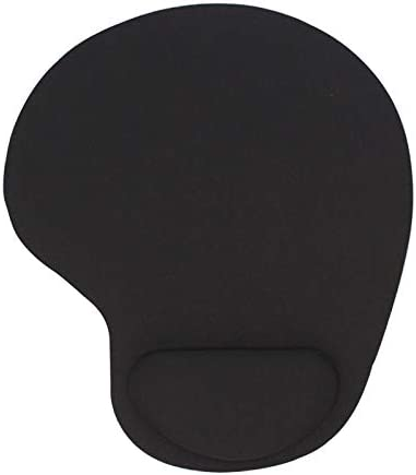 Keyboard Wrist Rest Pad Mouse Pad with Wrist Rest for Computer Laptop Notebook Keyboard Mouse Mat with Hand Rest Mice Pad Gaming Accessories Mouse Wrist Cushion Support (Color : Black)