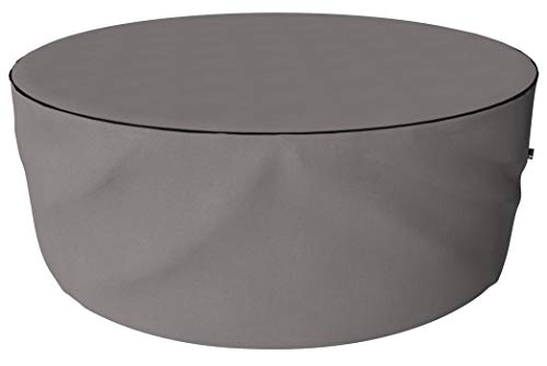 SORARA Protective Cover for Round Table Set | Grey | Ø 260 x 90 cm | water repellent