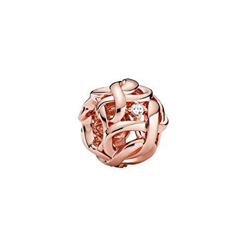 Pandora Encanto Mujer Plata dorada circonita Forma diferente - 788824C01