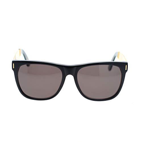 Occhiali da sole retrosuperfuture classic black gold 21p - 58/17/145