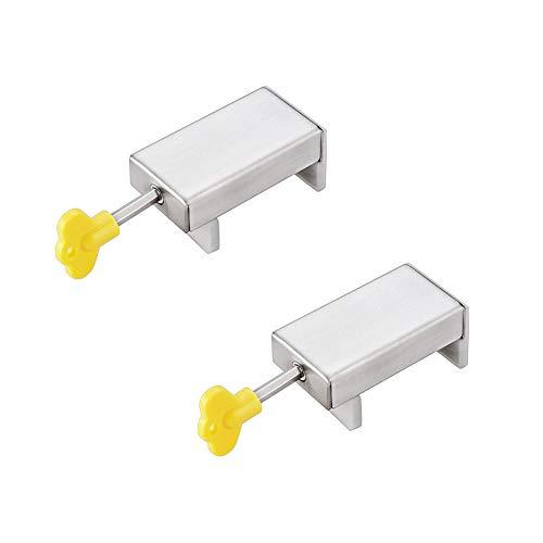 2 piezas Cerradura De Seguridad Para Ventana Corredera Ajustable De Calidad Superior Puertas Correderas Y Cerraduras Limitador De Seguridad Para NiñOs