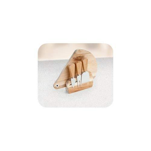 Acacia Collection: la linea BRANDANI che vede come elemento principale il legno d'acacia, conosciuto sin dall'antichità per le sue eccellenti qualità Tagliere per formaggio, in legno di acacia; grazie alla calamita, i tre coltelli sono sempre pronti ...