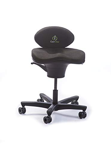 CoreChair Classic Premium Ergonomic Active-Sitting Office Chair | Patented Design to Promote Movement to Build Core Strength and Posture (for Those 5'5' and Shorter)