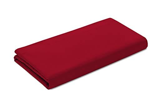 Vision Bettlaken rot–270x 300cm–100% Baumwolle