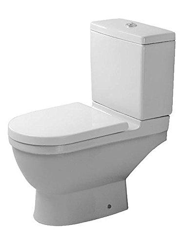Duravit Stand WC Kombi Starck 3 65, 5cm Tiefspüler, ohne Spülkasten, ohne Dekel, weiß WonderGliss 1260900001, 1260900001