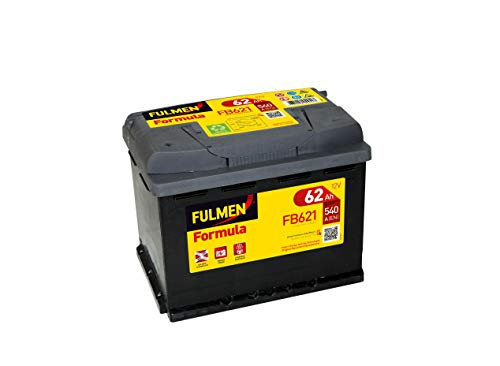 Fulmen - Batterie voiture FB621 12V 62Ah 540A - Batterie(s)