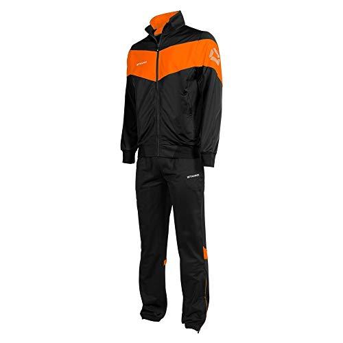 Stanno Fiero Poly Anzug - Black-Orange, Größe #:XXXL