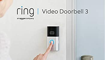 All-new Ring Video Doorbell 3 | HD video, improved motion detection, and easy installation | With 30-day free trial of...