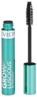 Revlon Grow Luscious Waterproof Mascara Blackest Black (2-pack)