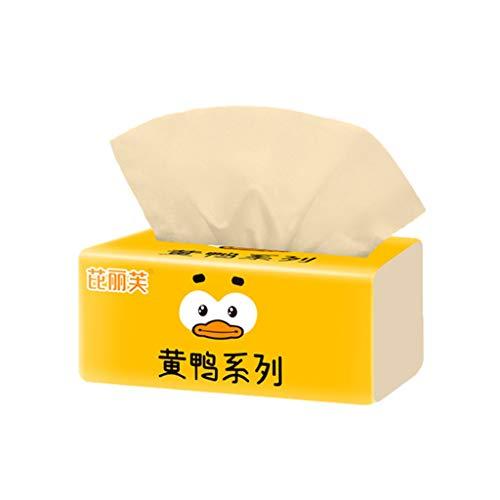 FBGood Taschentücher aus Papier, 3 Lagen, 10 Stück Bambus-Pulpe, Natur, Papierhandtücher, zum Aufpumpen, aus Papier, für zu Hause, Handtuchspikes 10 Stück.