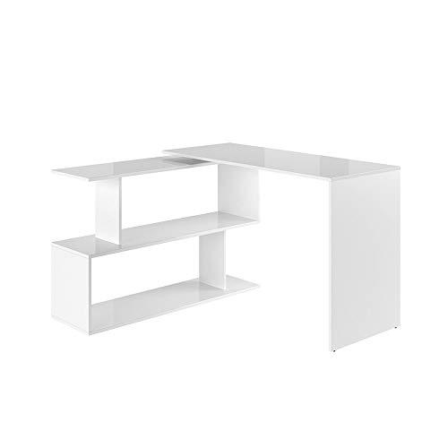 Vicco Eckschreibtisch Schreibtisch LEVIA - PC Tisch Winkelkombination Arbeitstisch Computer Büro +++ 3 Dekore +++
