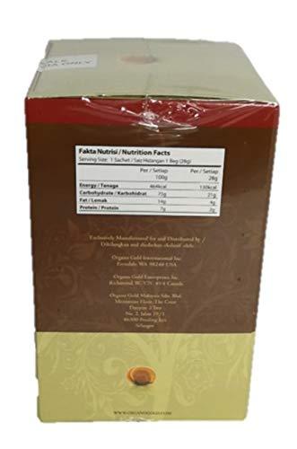 2 Box Organo Gold Cafe Mocha 100% Certified Organic Organic Gourmet Coffee